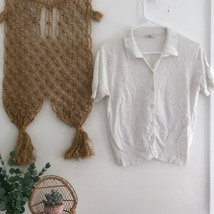 Vintage Daisy Knit Top